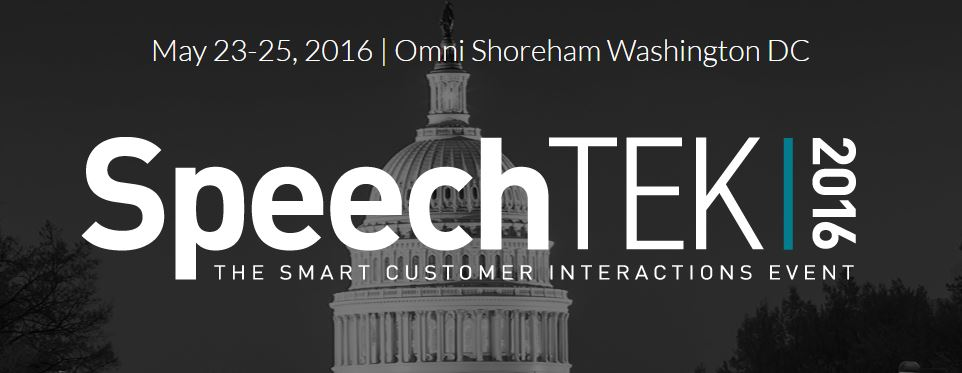 Cool Apps on Agenda at SpeechTek 2016