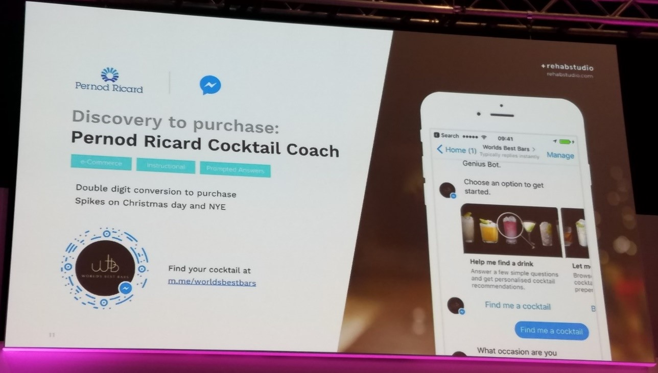 Cocktail Coach Intelligent Bot